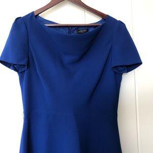 Tahari Dress. Bright Blue. Cocktail or prom dress.